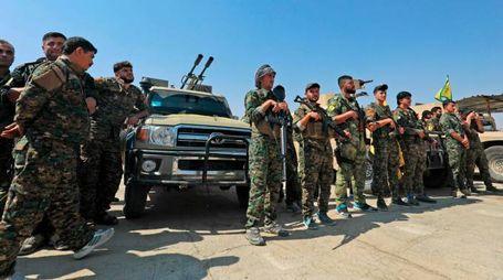 Siria, l'offensiva delle forse curde contro l'Isis