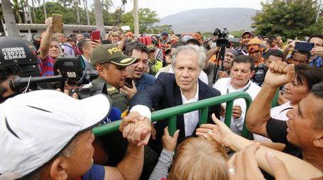 Segretario generale dell'Organizzazione degli Stati americani (Osa), Luis Almagro (Ansa)