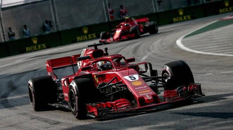 Vettel e Raikkonen (Ansa)