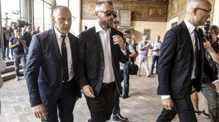 """Calcio:Ferrero a funerali M.Sensi """"pochi tifosi,sono deluso"""""""