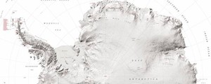 La super mappa dell'Antartide - Foto: National Geospatial-Intelligence Agency