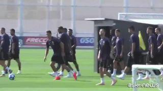 Champions, CR7 si prepara al debutto europeo con la Juventus