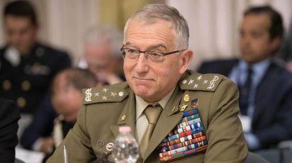 Generale Claudio Graziano (Ansa)