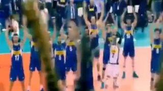 Italvolley, Zaytsev e compagni salutano Firenze con la Geyser dance