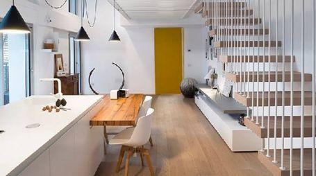 Wireless House, due ambienti con pochi elementi