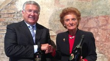 Benedetto Renda e Pia Donata Berlucchi