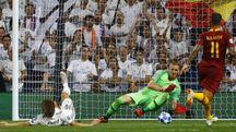 Real Madrid-Roma (Ansa)