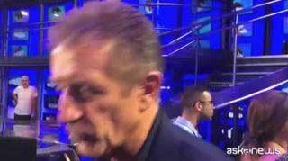Ezio Greggio: cartellino rosso va dato ad arbitro, non a Ronaldo