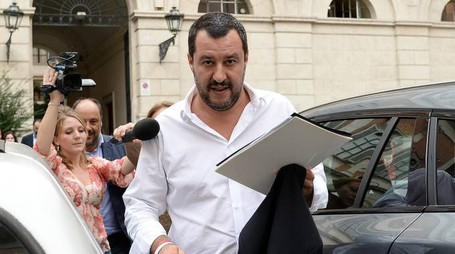 Il vicepremier Matteo Salvini (Lapresse)