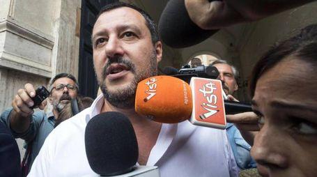 Il vicepremier Matteo Salvini (Ansa)