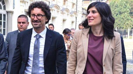 Danilo Toninelli e Chiara Appendino