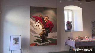 Macron in caricatura: mostra a Ginevra fra vignette e libri