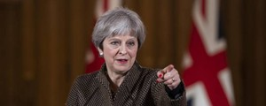 Theresa May (Ansa)