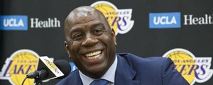 Magic Johnson (Ansa)