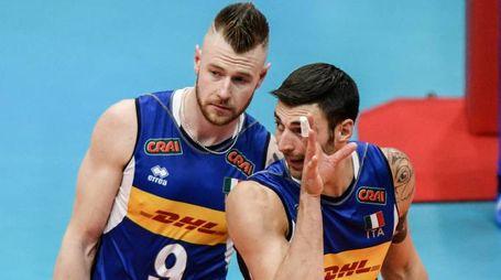 Volley, Ivan Zaytsev e Simone Anzani (Lapresse)