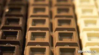 Pavarotti, Vasco, Bottura, Enzo Ferrari in scultura di cioccolata
