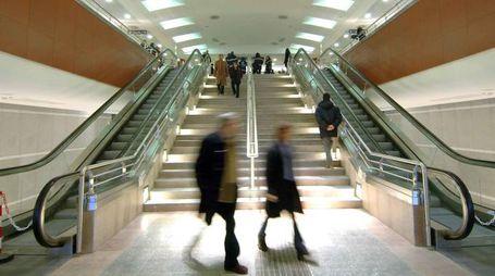La metropolitana di Torino, foto d'archivio (Lapresse)