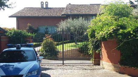 Lanciano, la villa teatro della rapina da Arancia meccanica (Ansa)