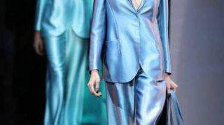Moda: Giorgio Armani, la forma del colore