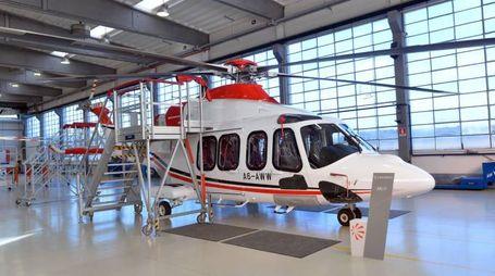 L'elicottero AW139 (Newpress)