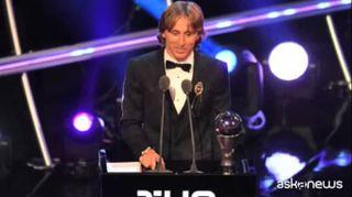 Calcio, Modric vince premio FIFA per miglior giocatore dell'anno