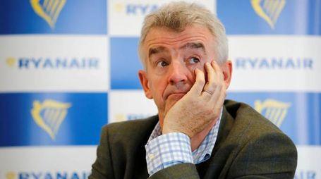 Michael O'Leary CEO di Ryanair (Lapresse)