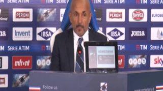 Inter, Spalletti in panchina contro la Fiorentina
