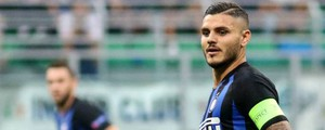 Icardi, attaccante dell'Inter (Newpress)