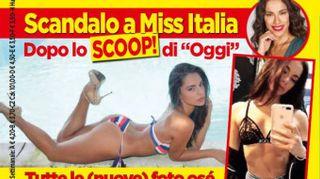 Miss Italia 2018, nuove foto hot. Carlotta Maggiorana in tanga e tacchi a spillo