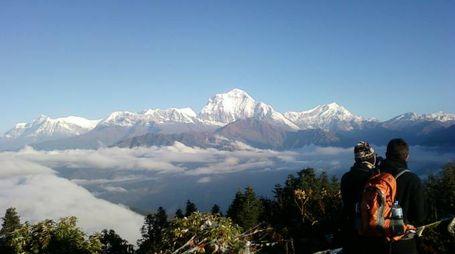 Le vette del Nepal (Wikimedia Commons)