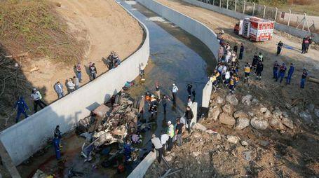 Incidente in Turchia, strage di migranti, 22 morti (Epa Ansa)