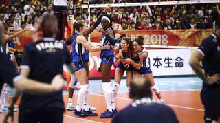 Mondiali volley femminile 2018, la gioia delle azzurre è incontenibile