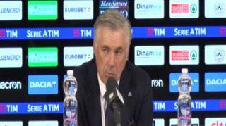 """Napoli, Ancelotti: """"Non facciamo corse su nessuno, il sogno scudetto lo abbiamo tutti"""""""
