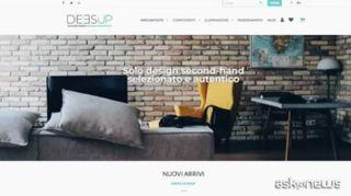 Deesup il primo marketplace dedicato agli appassionati di design