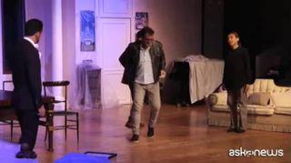 """Montedoro e Fornari a teatro: """"Ecco la nostra casa di famiglia"""""""