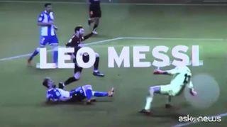 Calcio, Leo Messi premiato come capocannoniere della Lìga 2017