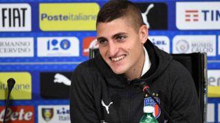 """Calcio: Azzurri. Verratti,""""primo posto è sfida, ci crediamo"""""""
