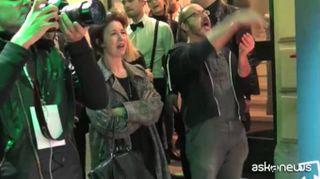 Show di Cristina D'Avena per inaugurazione Amazon Loft for Xmas
