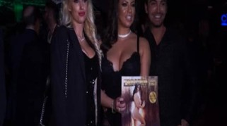 For Men compie 15 anni e celebra con l'ex Playmate Fabiana Britto