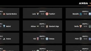 Europa League, stasera in campo Lazio e Milan