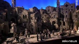 Il presepe tra i Sassi di Matera arriva al Quirinale