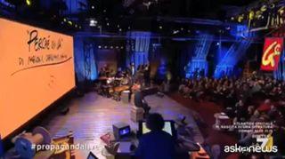 Jovanotti canta il testo di Giorgia Meloni: hit su Global Compact
