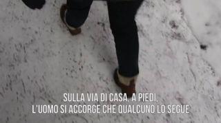 Storie di Natale terrificanti: i passi nella neve