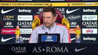 """Roma-Torino, Di Francesco: """"Noi obbligati a vincere"""""""