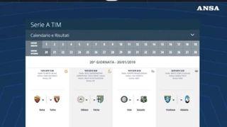 Torna in campo la Serie A, primo anticipo Roma-Torino