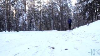 """""""Monster Frozen"""", nuova impresa di Venturini: corre a -52° tra i ghiacci della Siberia"""