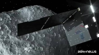 Un satellite italiano documenterà impatto tra sonda e asteroide