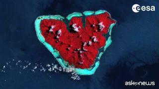 San Valentino, la Terra si trasforma in un cuore. Le immagini Esa dallo Spazio