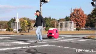 Il robot italiano Yape fa le consegne fino in Giappone