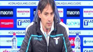 """Lazio, Inzaghi: """"Siamo in emergenza ma saremo competitivi"""""""
